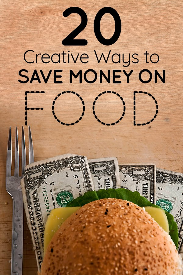 Ways to save money on food