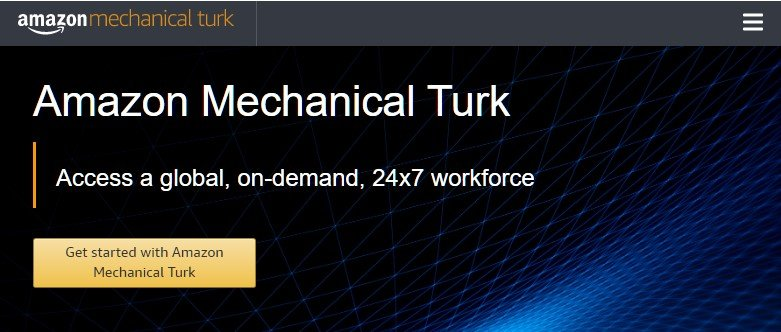 make money online now with Amazon mechanical turk