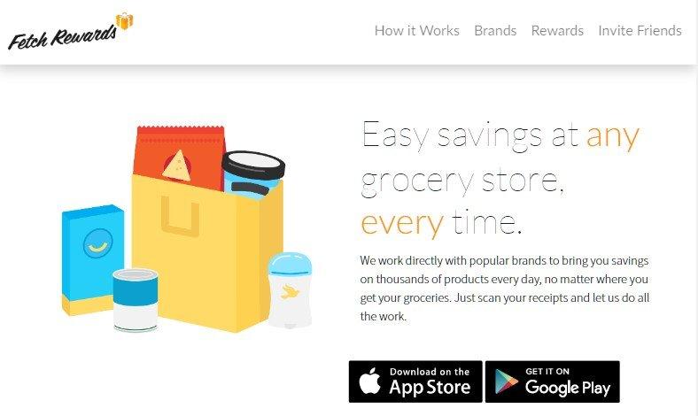 earn cash online now on fetchrewards