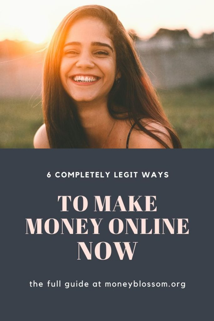 ways to make money online now