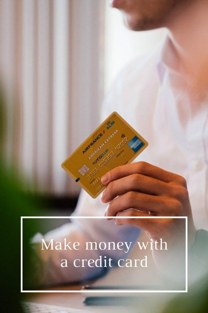 make money with a credit card
